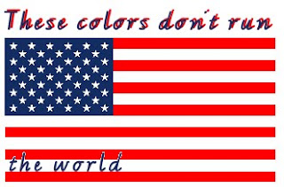 These Colors Dont Run - the world