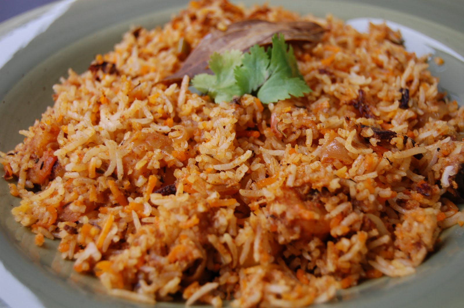 Not So Gourmet...: Shrimp Biryani
