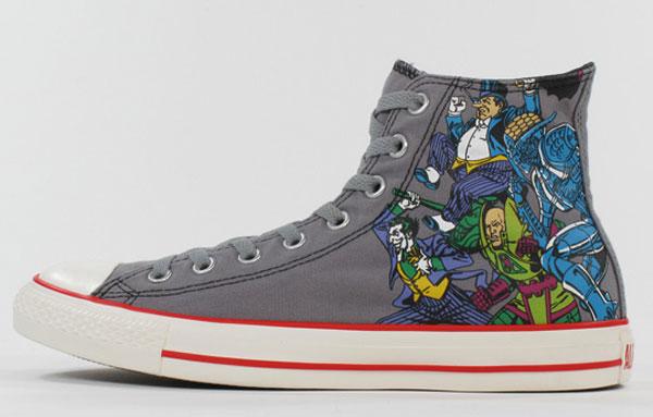 RobotSumi: Converse + DC Comics = AWESOME