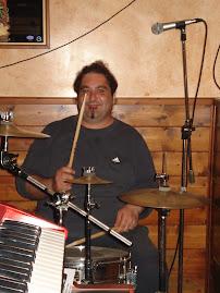 """Cesare """"Fiorello"""" Meloni... on drums"""