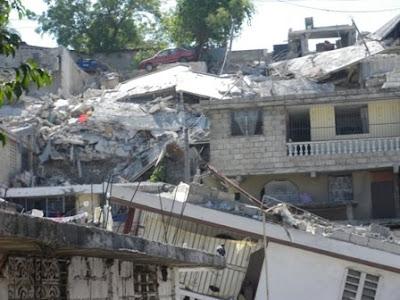 D tachement des sapeurs pompiers guyanais en ha ti le for Hopital canape vert haiti