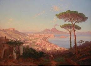 Veduta Golfo di Napoli - Duclere