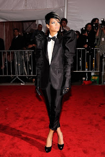 Rihanna Metropolitan Museum of Art Costume Institute Gala 2009