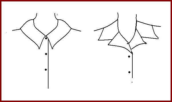 how to draw a shirt collar