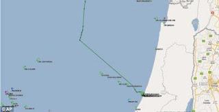 foto serangan israel freedom flotilla