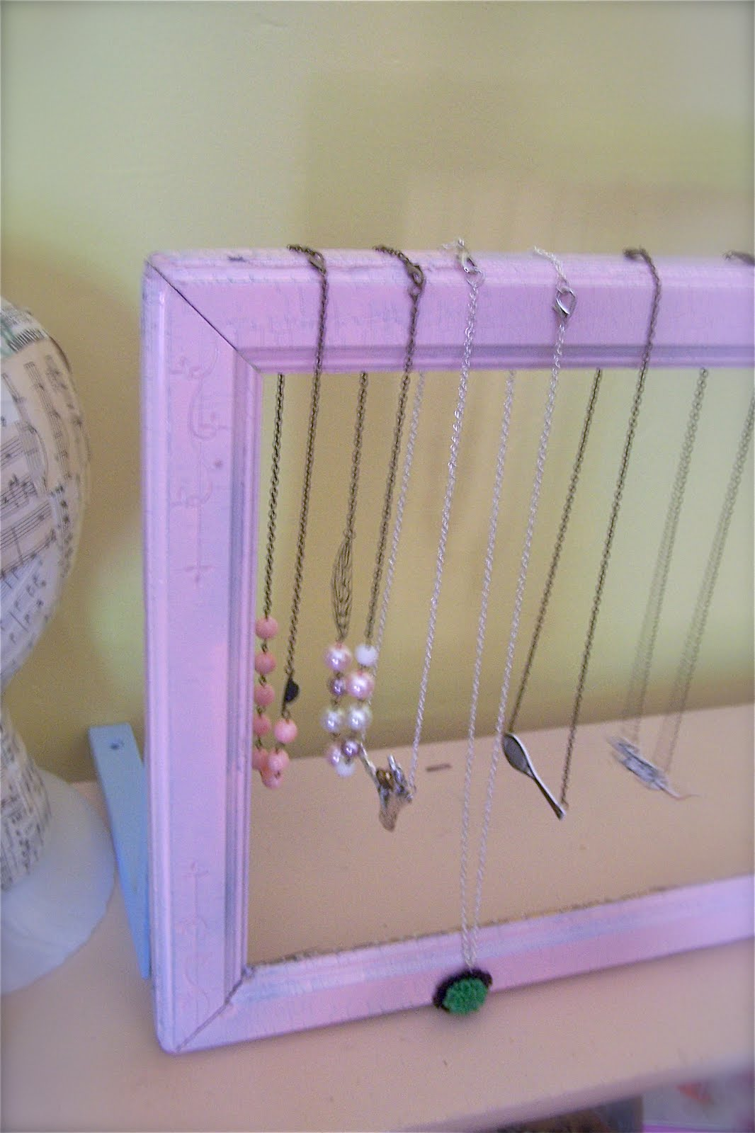 From the factory diy craft show display tutorial 3 for Display necklaces craft fair