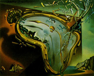 Salvador Dali !! 1954_12_Soft+Watch+at+the+Moment+of+First+Explosion,+1954