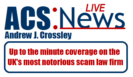 ACS:Law = Legalised Extorsion Scam | Download Leaked Emails | Andrew Crossley | ACS:NEWS