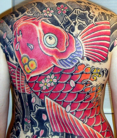 Japanese Koi Fish Tattoos. When Tattooing Koi Tattoo Designs on yourself you