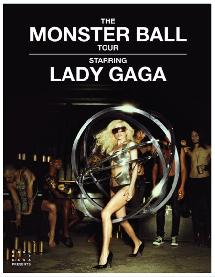Concert: Lady Gaga/ The Monster Ball Tour Place: Oslo Spektrum