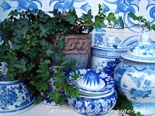 cerámica en azul