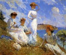 el largo y placido verano de Frank Weston Benson