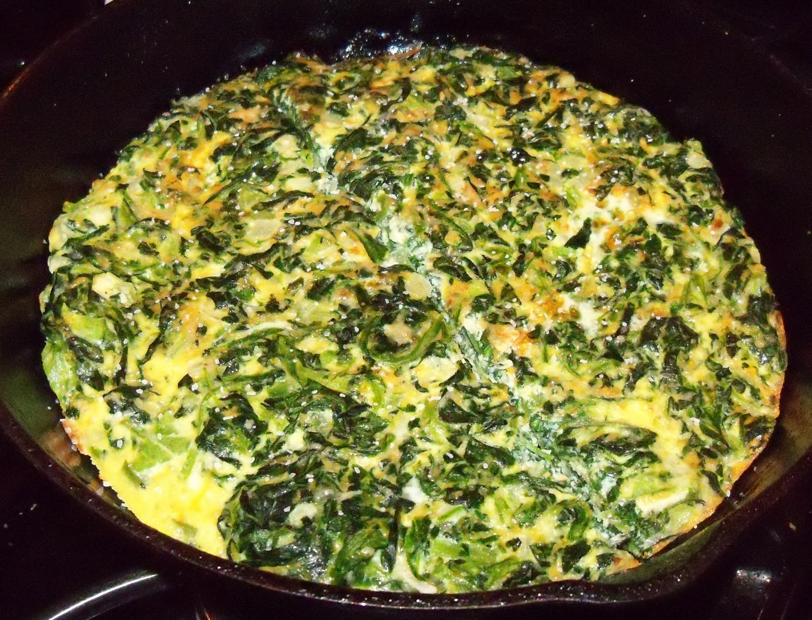 Spinach Frittata, Usher – There Goes My Baby & Yvonne's Comment ...
