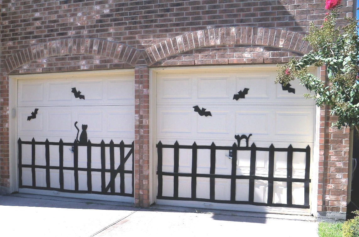 1000+ images about Garage Door Decor on Pinterest | Halloween home decor,  Halloween and Electrical tape