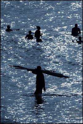 Bañistas en Cabo de Palos