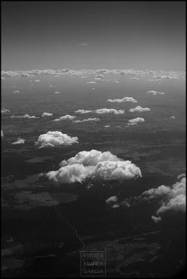 El cielo y sus nubes desde arriba