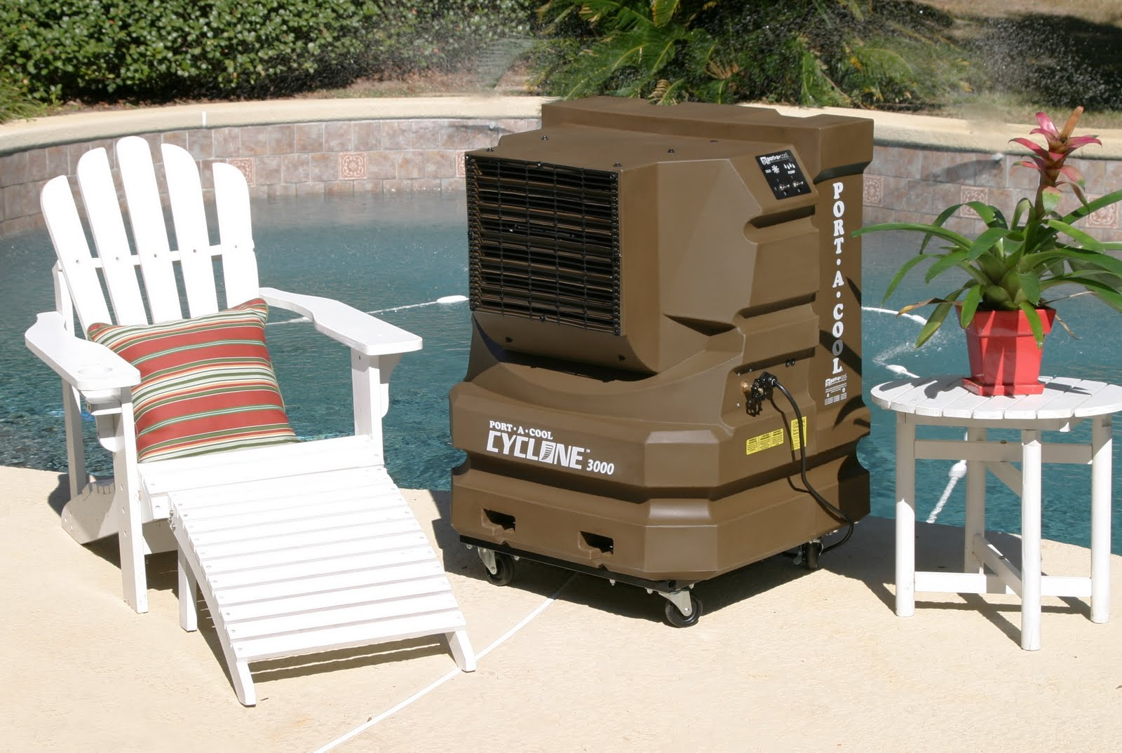 Evaporative Cooler For Pool : Portacool cyclone evaporative cooler climate control in