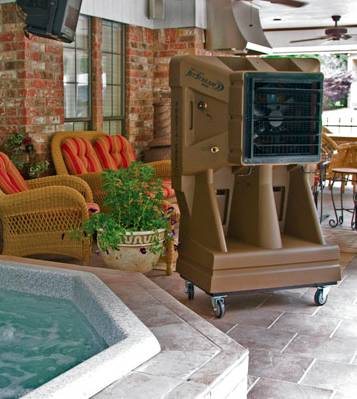 Don T Miss One Minute Of Pool Or Patio Time With Port A Cool Units Down Swim Areas And Enjoy Outdoor Barbeques