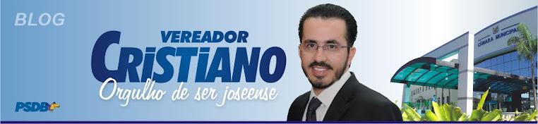 Vereador Cristiano Pinto Ferreira