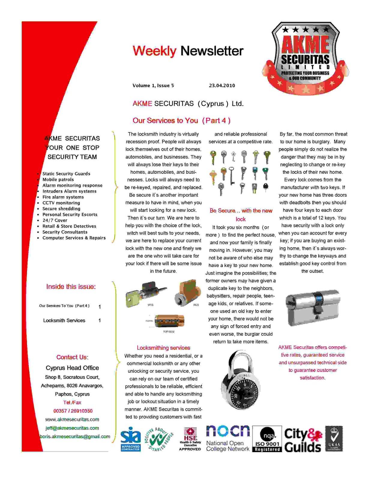 Newsletter Cache