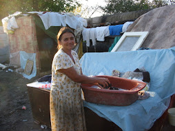 hand washing the clothes