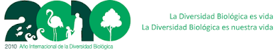 Smbolo y logotipo de &#171;2010, Ao Internacional de la Biodiversidad&#187;