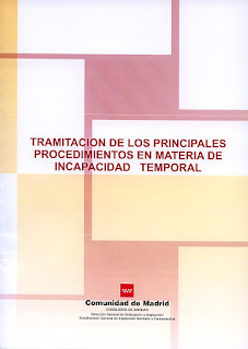 Portada del Manual de &#171;Tramitacin de los Principales Procedimientos en Materia de Incapacidad Temporal&#187;.