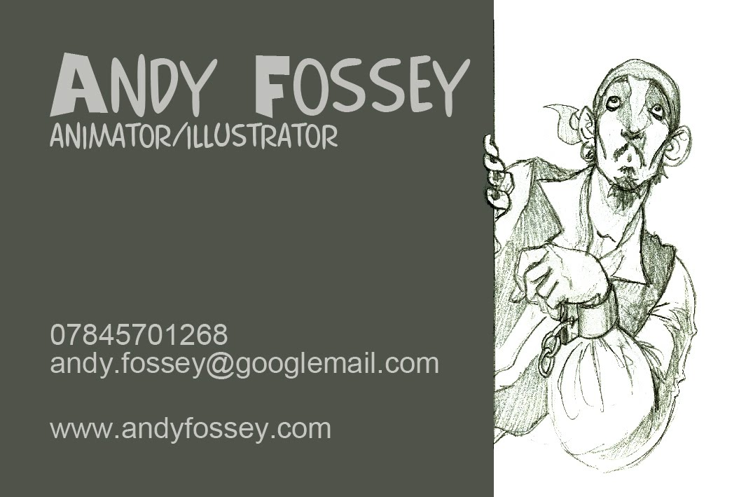 Andy fossey animation blog some business card designs some business card designs colourmoves