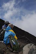富士山のぼったよ。