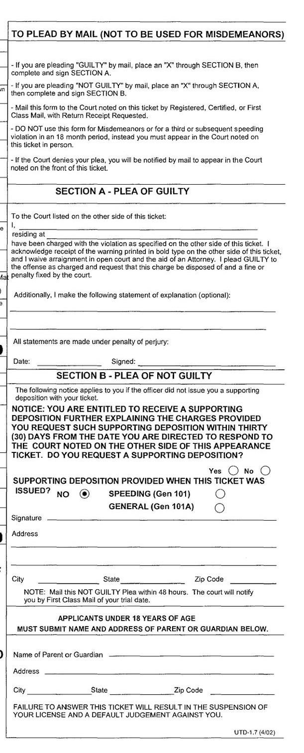 Fake Police Ticket Template Viewing Gallery