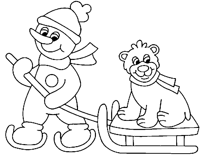 The dog winter coloring pages disney coloring pages for Disney winter coloring pages