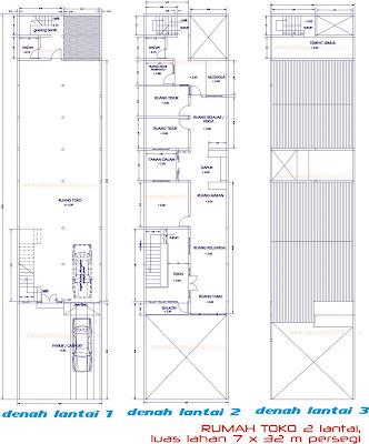 Desain rumah rumah artis rumah mewah house star september 2010 sketsa gambar di atas adalah desain bangunan rumah tinggal toko ruko bertingkat 2 lantai di atas lahan seluas 7 x 32 meter persegi ccuart Gallery