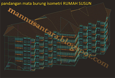 mannusantara design indonesia contoh desain rumah susun