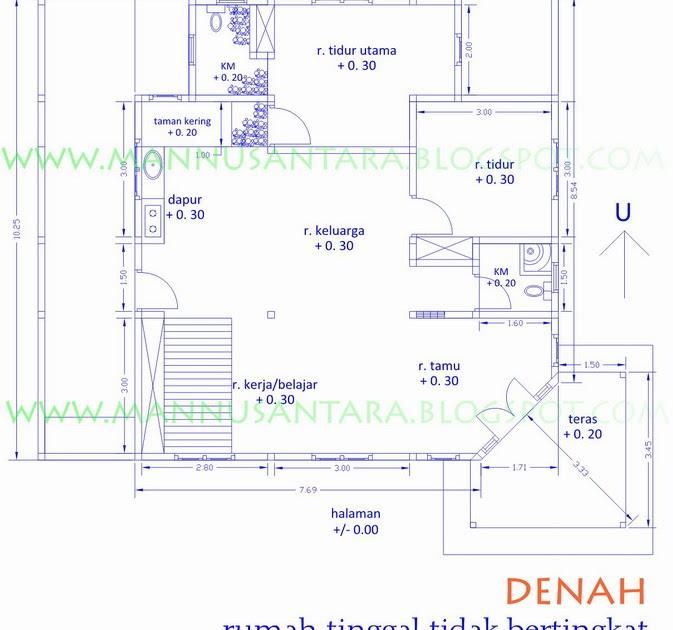 Rumah tinggal tidak bertingkat mannusantara design indonesia ccuart Choice Image