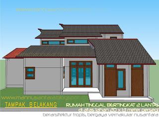 mannusantara design indonesia: rancangan rumah tinggal