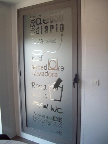 Blog flor4u q esko dissenys for Puerta lavadero
