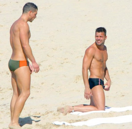 Bullfighters Bulges http://aboutthehair.blogspot.com/2008/06/ricky-martin.html