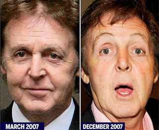 Going Going Gone Outing Bald Celebrities Paul Mccartney