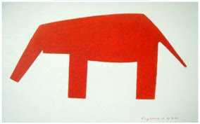 21 - Red Elephant
