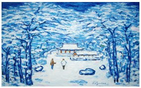 17 - Sakura Snow View - SOLD !