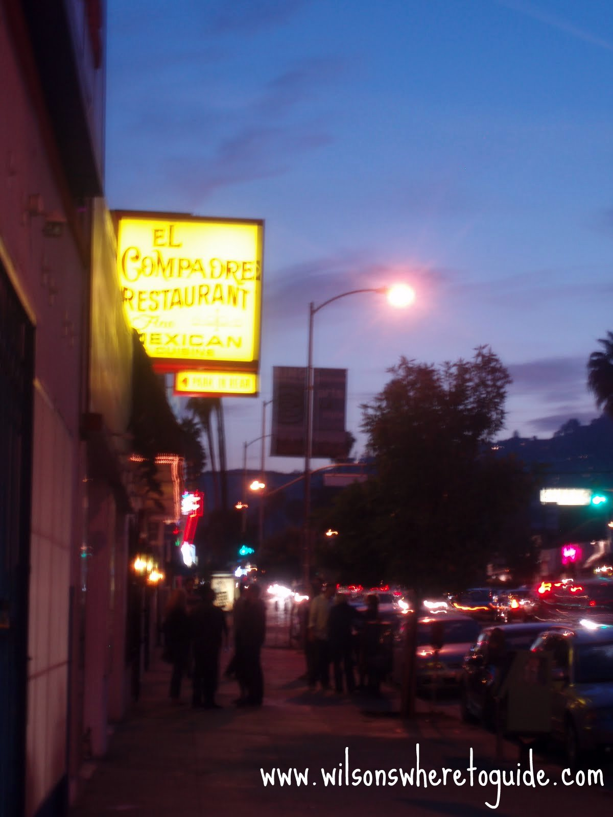 Mexican Restaurant Sunset Blvd West Hollywood
