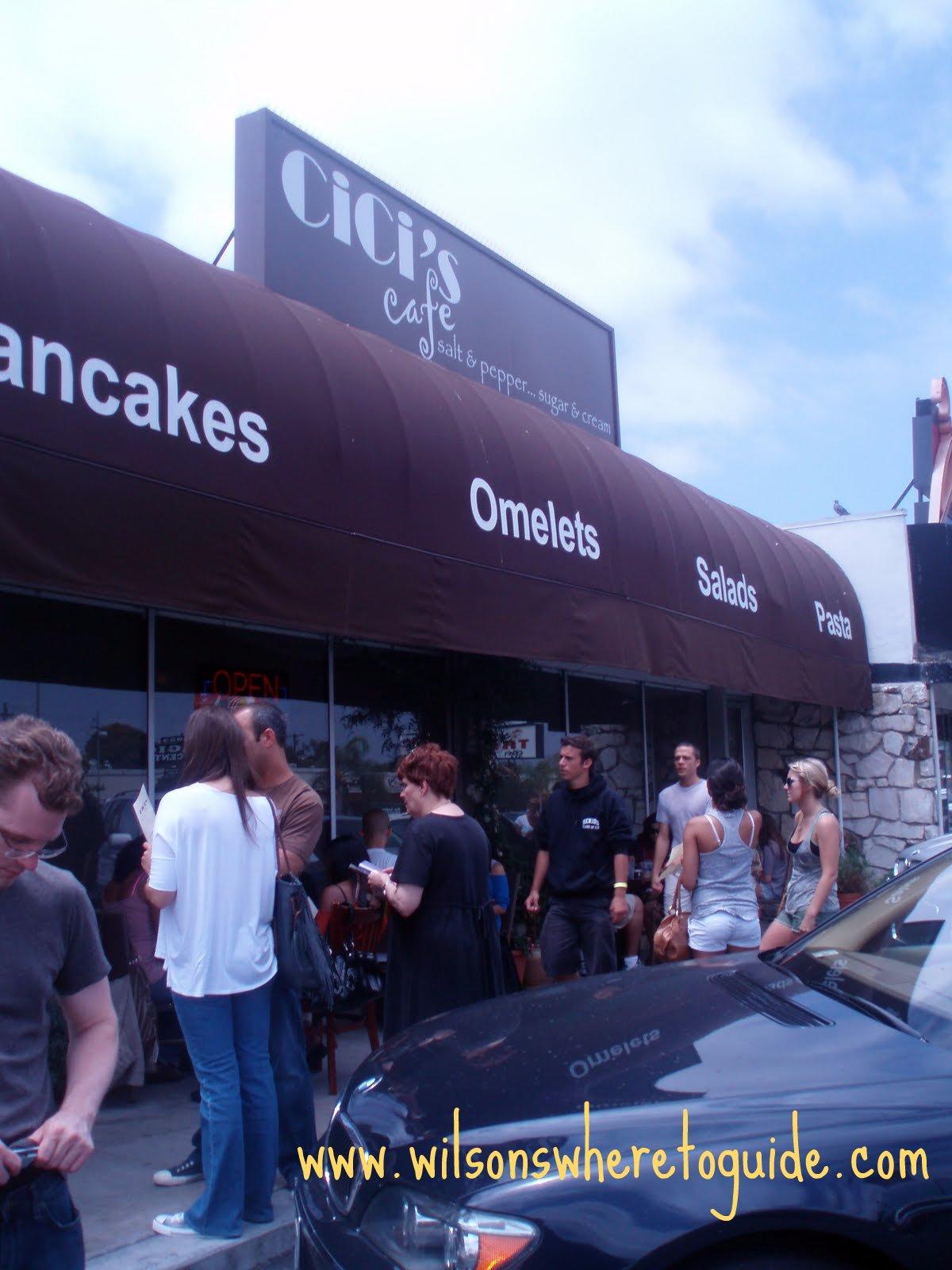 Cici S Cafe Menu Westlake