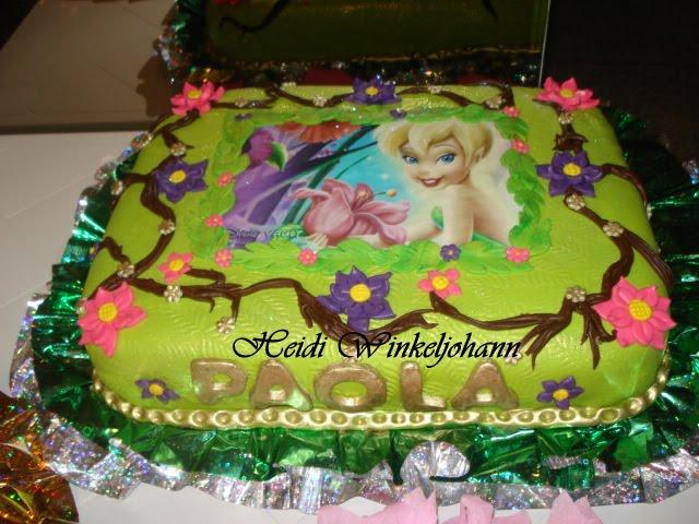 Modelos de torta de tinkerbell - Imagui