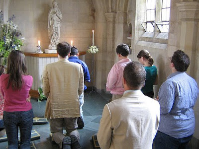 Image result for douai abbey mass malleray
