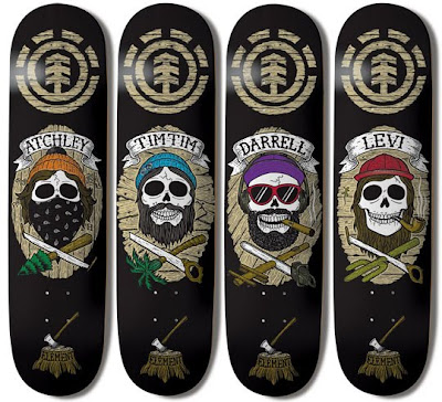Element Dead Gang Series Skateboards