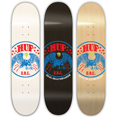 Real Skateboards x HUF Limited Edition Skate Decks