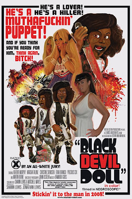 Black Devil Doll Poster