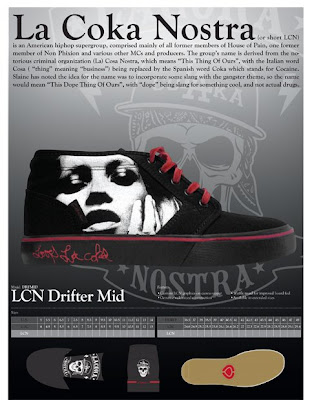 Circa La Coka Nostra Shoe Collaboration