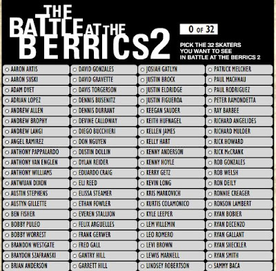 Battle at the Berrics 2