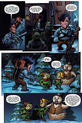 Army of Darkness Ash's Christmas Horror Graphic Novel 23